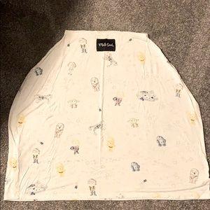 Milksnob Star Wars car seat canopy
